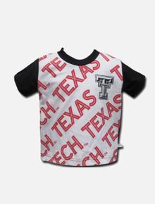 Texas Tech Red Raiders Double T Raglan TODDLER T-Shirt