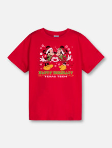 "Disney x Red Raider Outfitter Christmas ""Noel Heart"" Mickey and Minnie YOUTH T-Shirt"