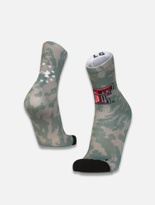 Texas Tech Red Raiders Under Armour Military Appreciation Unrivaled Crew Socks