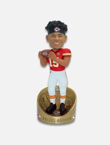 "Kansas City Chiefs Super Bowl Mahomes LIV 10"" MVP Bobble Head"