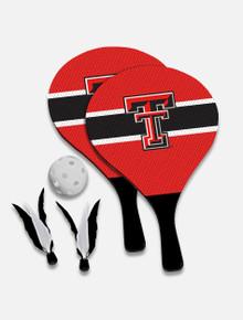 Texas Tech Red Raiders 2-in-1 Birdie Pickleball Paddle Game