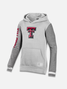 "Under Armour Texas Tech Red Raiders YOUTH ""Across the Middle"" Fleece Hoodie"