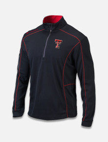 "ColumbiaTexas Tech Red Raiders Omni Wick ""Shotgun"" 1/4 Zip"