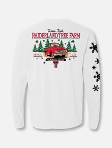 """Texas Tech Red Raiders """"Tree Farm"""" Long Sleeve Shirt back"""