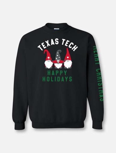 "Texas Tech ""Gnomies Holiday"" Crew Sweatshirt"