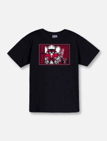 "Texas Tech ""High Density"" Raider Red YOUTH T-Shirt Front"