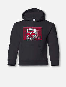"Texas Tech Red Raiders ""High Density"" Raider Red YOUTH Hoodie"