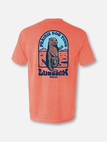 "World Famous Prairie Dog Town ""Howdy Dog"" T-Shirt in Terracotta Back"
