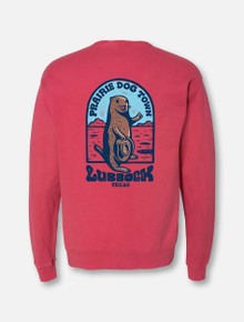 "World Famous Prairie Dog Town ""Howdy Dog"" Crew Sweatshirt"