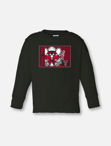 "Texas Tech Red Raiders ""High Density"" Raider Red TODDLER Long Sleeve"