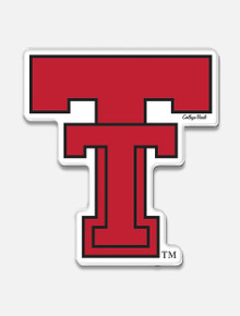 "Texas Tech Red Raiders Throwback ""Vault Double T"" Magnet"