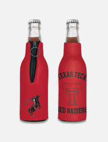 "Texas Tech Red Raiders Vault ""Rearing Rider"" Bottle Cooler"