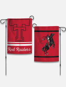 "Texas Tech Red Raiders Vault "" Double Sided"" Garden Flag"