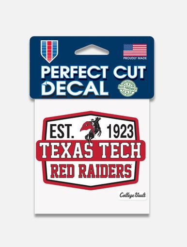 "Texas Tech ""Est. 1923"" Perfect Cut Decal"