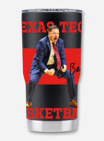 "Texas Tech ""Hulk"" Chris Beard 20oz Double Walled Travel Tumbler"