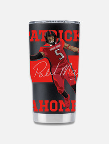 Texas Tech Double Walled Patrick Mahomes Travel Tumbler