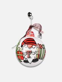 Texas Tech Red Raiders Gnome Christmas Ornament
