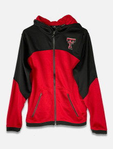 "Texas Tech Red Raiders Two Tone ""Hex"" Full Zip Hoodie (COFF10590)"