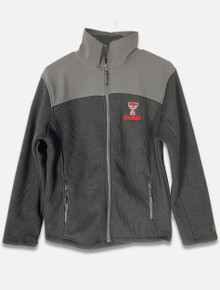 "Texas Tech Red Raiders ""Two Tone"" Double T Over Red Raiders Full Zip Jacket (COUJ10476)"