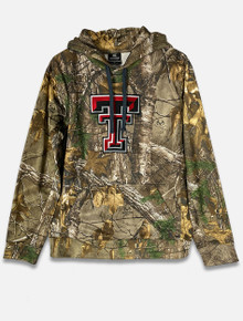 Texas Tech Red Raiders Camo Hoodie with Embroidered Double T (COFH10573)
