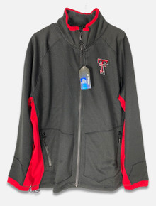 Texas Tech Red Raiders Embroidered Double T Full Zip Jacket (COUJ10580BN)
