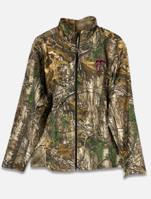 Texas Tech Red Raiders Camo Full Zip Jacket with Embroidered Double T (COFF10570)