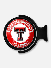 Texas Tech Illuminated Rotating Sign with Double T