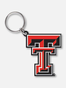 Wincraft Texas Tech Double T Flex Key Ring Keychain