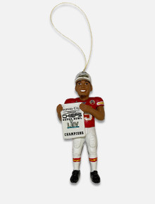 Kansas City Chiefs Mahomes Super Bowl LIV Champions Ornament