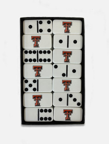 Texas Tech Domino Set with Double T