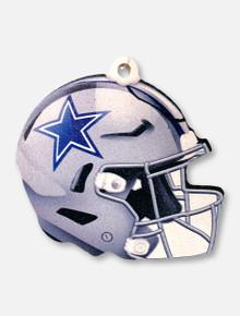Dallas Cowboys Helmet Wooden Ornament