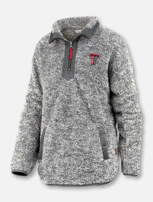 "Pressbox Texas Tech Red Raiders Double T ""Mammoth"" Sherpa Fleece 1/4 Zip Pullover"