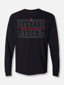 """Texas Tech Red Raiders """"Boxed In"""" Long Sleeve T-Shirt"""