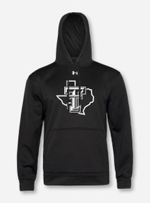 Under Armour Texas Tech Red Raiders Blacklist Armour Hooded Sweatshirt front