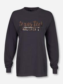 Texas Tech Red Raiders One Script Foil Long Sleeve T-Shirt