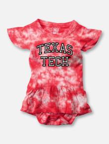Texas Tech Stacked Tie Dye Onesie