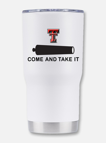 "Texas Tech Double Walled ""Come and Take It ""Travel Tumbler"