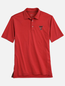 "Johnnie-O Texas Tech Red Raiders Double T ""Birdie"" Polo"