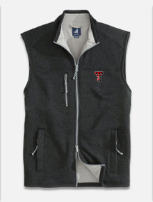 "Johnnie-O Texas Tech Red Raiders Double T ""Wes"" Full Zip Vest"