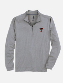 "Johnnie-O Texas Tech Red Raiders Double T ""Flex"" 1/4 Zip Pullover"