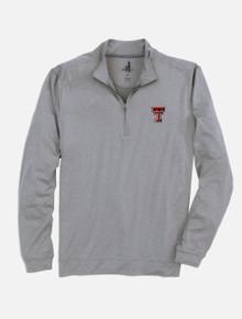 "Johnnie-O Texas Tech Red Raiders Double T ""Flex"" 1/4 Zip Pullover"