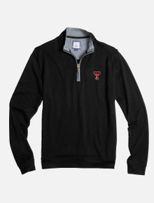 """Johnnie-O Texas Tech Red Raiders Double T """"Sully"""" 1/4 Zip Pullover"""