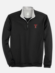 "Johnnie-O Texas Tech Red Raider Double T ""Diaz"" 1/4 Zip Pullover"