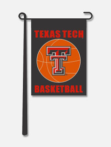 Texas Tech Red Raiders Basketball Garden Flag