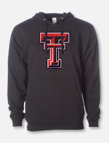 "Texas Tech ""Double T Midweight"" Twill Pullover Hood"