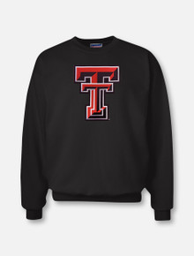 "Texas Tech ""Double T Midweight"" Twill Crew Sweatshirt"