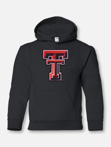 Texas Tech Double T Twill YOUTH Hoodie