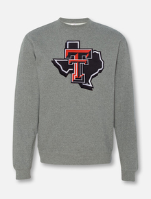 "Texas Tech ""Midweight Pride"" Twill Crew Sweatshirt"