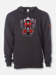 """Texas Tech """"Midweight Raider Red"""" Twill Hood with Pride Sleeve Print"""