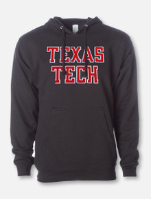 "Texas Tech ""Rugged Football"" Font Twill Hood"
